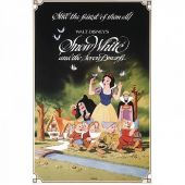 Μεταλλικός πίνακας Disney Classic Film Posters 'Snow White'
