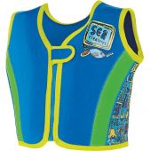 Zoggs Deep sea Swim Jacket Blue 100% neoprene 4-5years (18-25kgs)