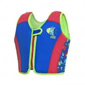 Zoggs Sea Saw Swimsure Jacket blue 2-3years, 15-18 kg 100% Polyester