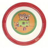 Sigikid Melamine bowl, Wild and Berry Bears