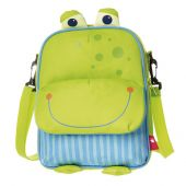 Sigikid Backpack and shoulder bag frog