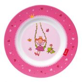 Sigikid Melamine plate, Pinky Queeny