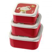 Sigikid 3 snack boxes dog, The little ones