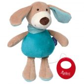 Sigikid Musical dog pastel, Blue Collection