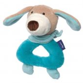 Sigikid Grasp toy dog pastel, Blue Collection