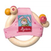 Sigikid Wooden rattle, Bungee Bunny