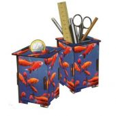 Werkhaus pencil-holder or moneybox 'Goldfish'