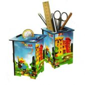 Werkhaus pencil-holder or moneybox 'Kika'