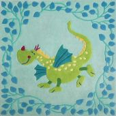 Carpet Fairy-tale Dragon
