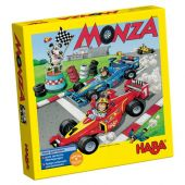 Haba board game in Greek-English-German language 'Monza'