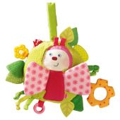 Haba Teether Cuddly Spring butterfly