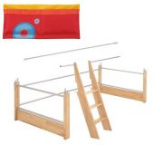 Matti Upgrade kit to Matti play bed red