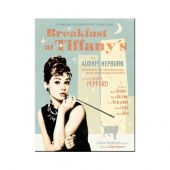 Nostalgic Magnet 'Breakfast at Tiffanys Blue