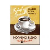 Nostalgic Μεταλλικό μαγνητάκι 'Coffee and Chocolate Morning Blend'