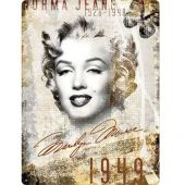 Nostalgic Μεταλλικός πίνακας 'Marilyn Monroe-Portrait-Collage'
