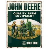 Nostalgic Μεταλλικός πίνακας John Deere Quality Farm Equipment