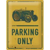 Nostalgic Μεταλλικός πίνακας Tractor Parking Only