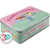 Nostalgic Μεταλλικό κουτί Flat 3D 'Fairy Cakes - Fresh every Day'