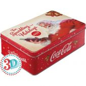 Nostalgic Μεταλλικό κουτί Flat 3D Coca-Cola For Sparkling Holidays