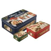 Nostalgic Merry Christmas Tin Box Set	various sizes (matt)