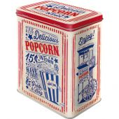 Nostalgic Tin Box L USA Popcorn