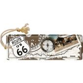 Nostalgic Metal Bookmark 5x15cm Route 66 Kompass
