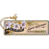 Nostalgic Metal Bookmark 5x15cm Superior Confectionery