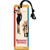 Nostalgic Metal Bookmark 5x15cm Breakfast at Tiffanys