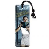 Nostalgic Metal Bookmark 5x15cm Unputdownable book