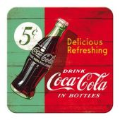 Nostalgic μεταλλικό σουβερ Coca-Cola - Delicious Refreshing Green