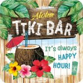 Nostalgic Coaster Tiki Bar Open Bar