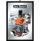 Nostalgic Mirror 'Jack Daniels Bottle 1866'