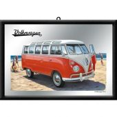 Nostalgic Mirror VW Bulli - Samba Bus Beach