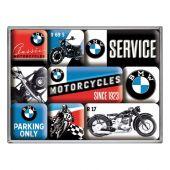 Nostgalgic Magnet Set (9pcs) BMW Motorcycles
