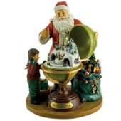 Christmas music box Santa And Child 8 melodies