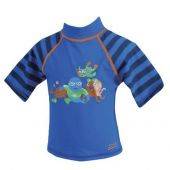 Zoggs Zoggy Sun Protection Top Blue 6-12 months