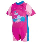 Zoggs Learn To Swim Swimfree Floatsuit One Piece 1-2 Years Pink