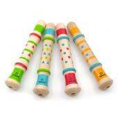 Svoora Whistle with Duck Sound 'INDIE' (1 display with 60 pcs, 4 desgins)