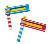 Svoora Colorful Rattle (1 display with 8 pcs, 2 designs)