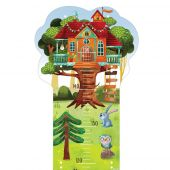 Svoora Children's Growth Chart 'Treehouse'