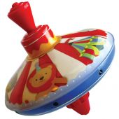 Svoora Medium Humming Tin Top 'Circus'