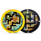 Svoora Wooden Double Disc Maze 'The pirate maze'