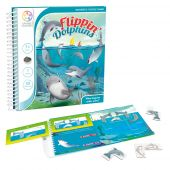 Smartgames επιτραπέζιο μαγνητικό Flippin Dolphins (48 challenges)
