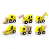 Construction Vehicle, available in 6 designs