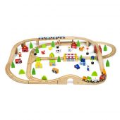 Viga 90pcs train set