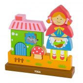 Viga Magnetic 3D Puzzle - Red Riding Hood