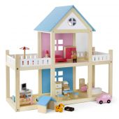 Viga Wooden Dollhouse