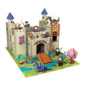 Krooom Artur Playset Knights castle with figures, accessories and mat