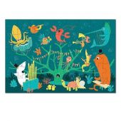 Krooom Puzzle 45 pcs. 'Sea animals music band'