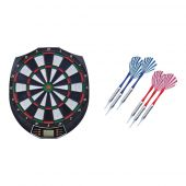 Sport1 Darts electronic target 38x43 cm complete with two sets of three darts